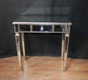 Mesas de salón de la consola con espejo Art Deco