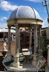 Gazebo del templo del jardín de la piedra de los 2.4m con cúpula cónica